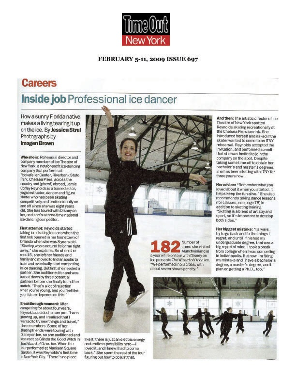 Ice Theatre of New York : Time Out New York Magazine